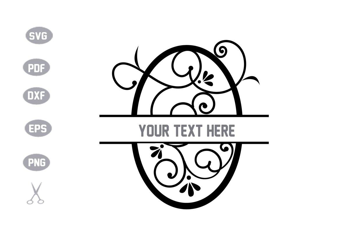 Letter O monogram SVG example image 1