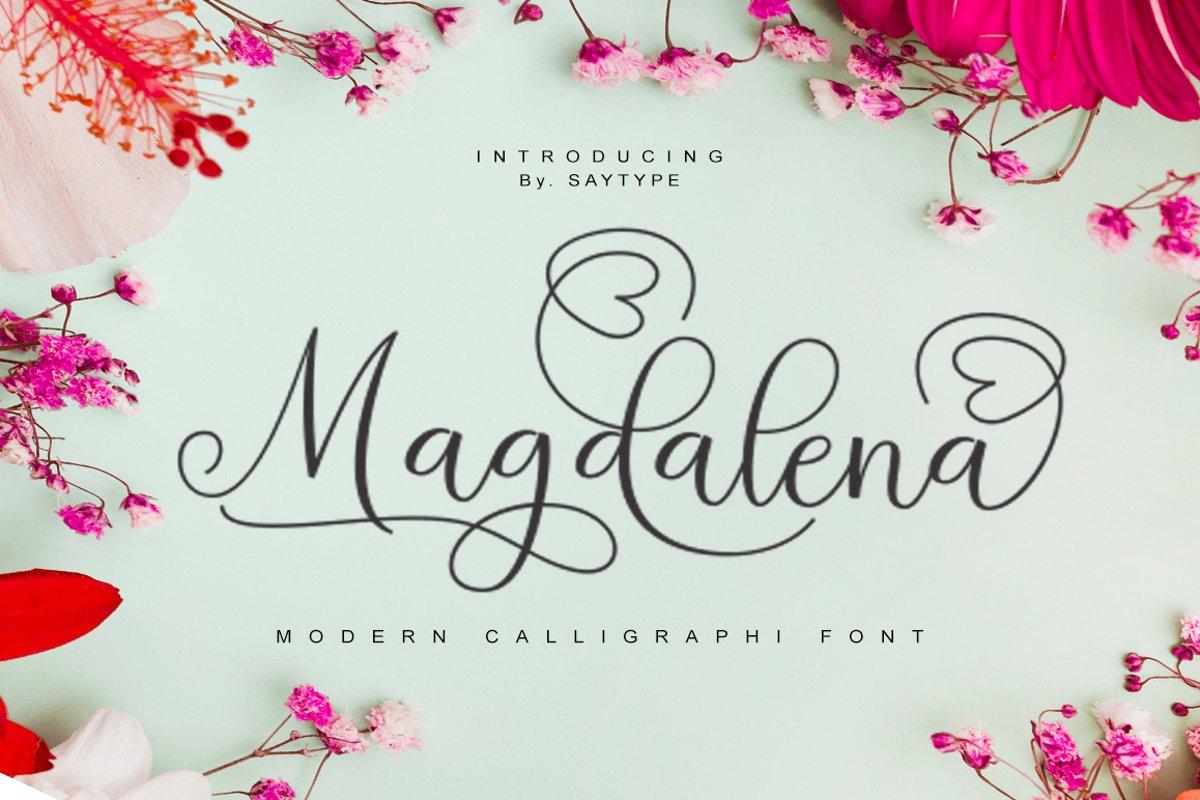 Magdalena Scrip example image 1