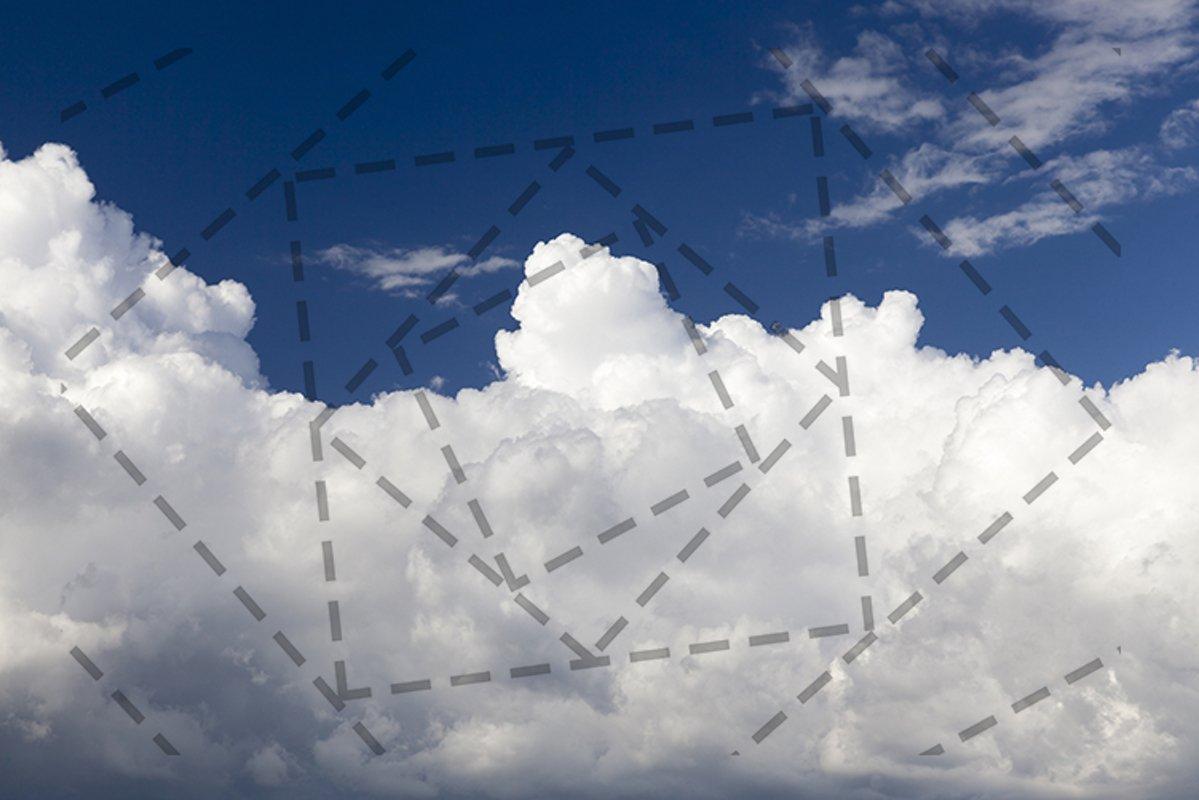 cumulus clouds example image 1