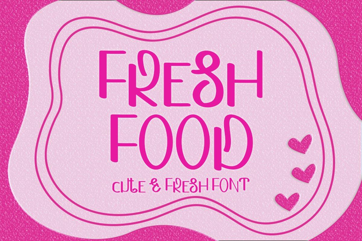 Fresh Food example image 1