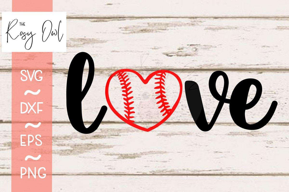 Love Baseball Heart Svg Png Dxf Eps 676931 Cut Files Design Bundles