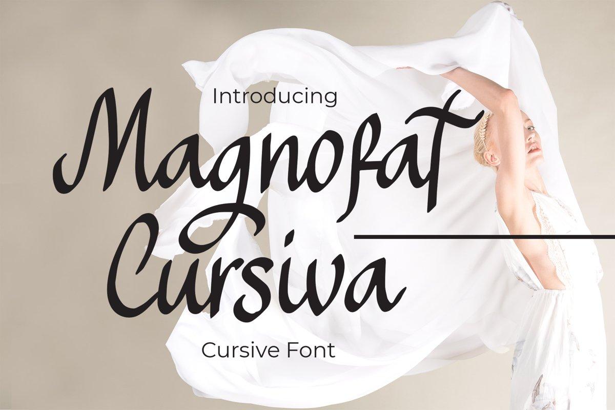 Magnofat - Display Font example image 1