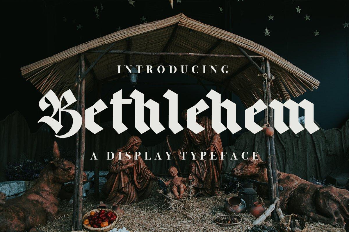 Bethlehem example image 1
