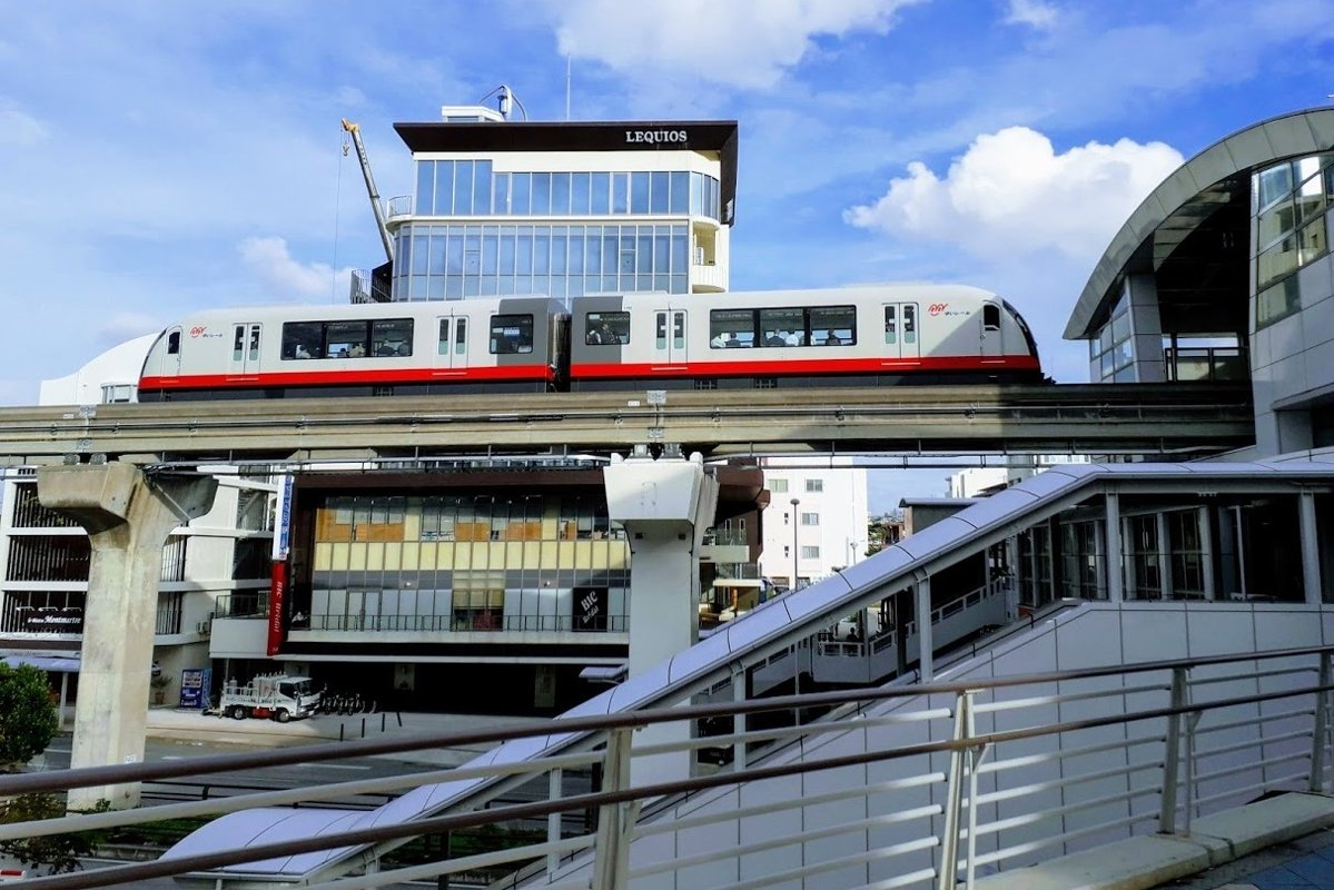 Travel Photos Monorail in Naha, Okinawa Japan example image 1