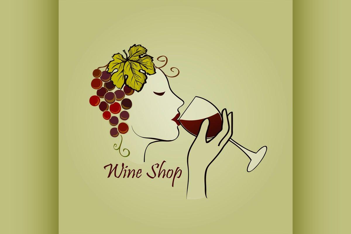 Hand drawn Wine label example image 1