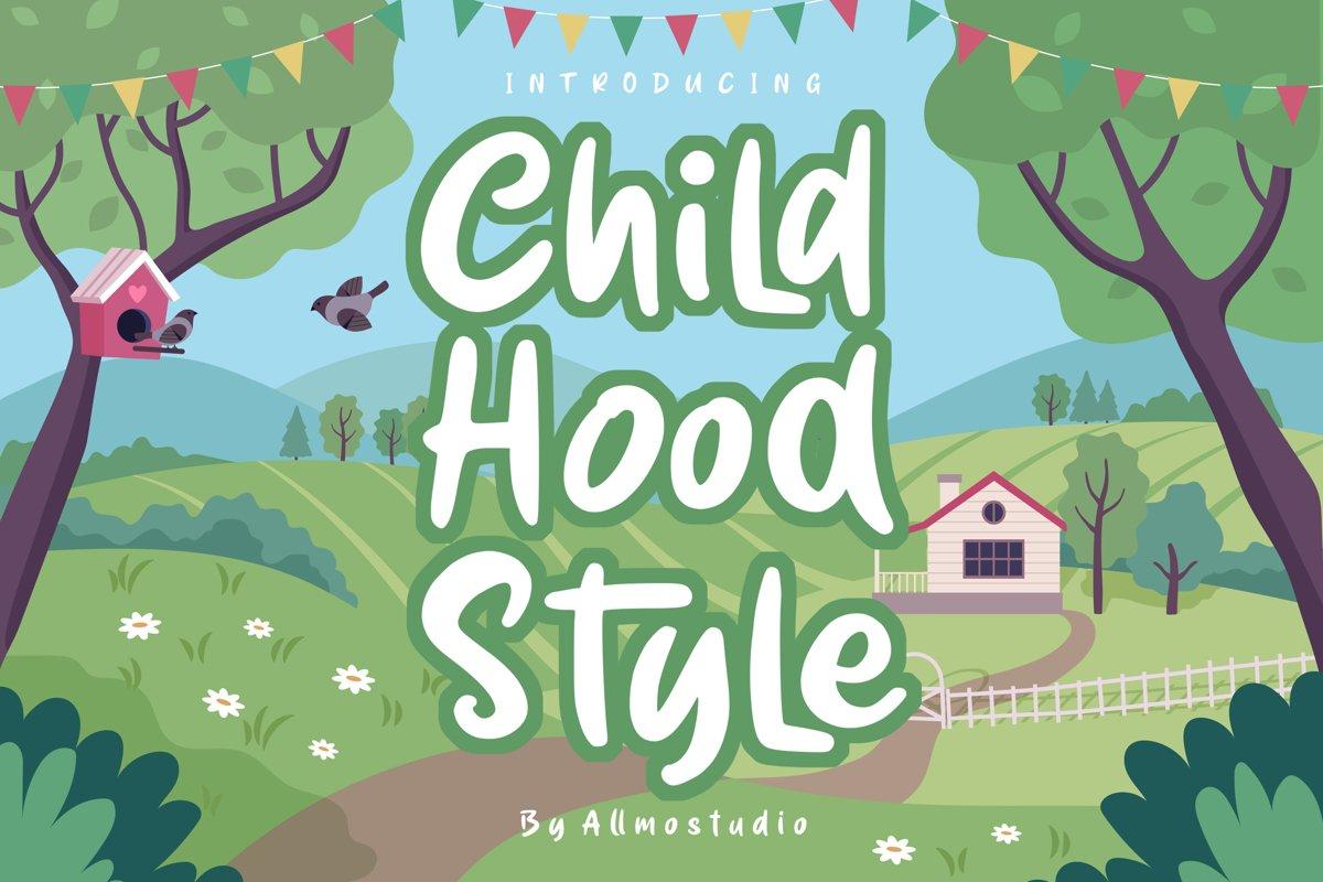 Childhood style example image 1