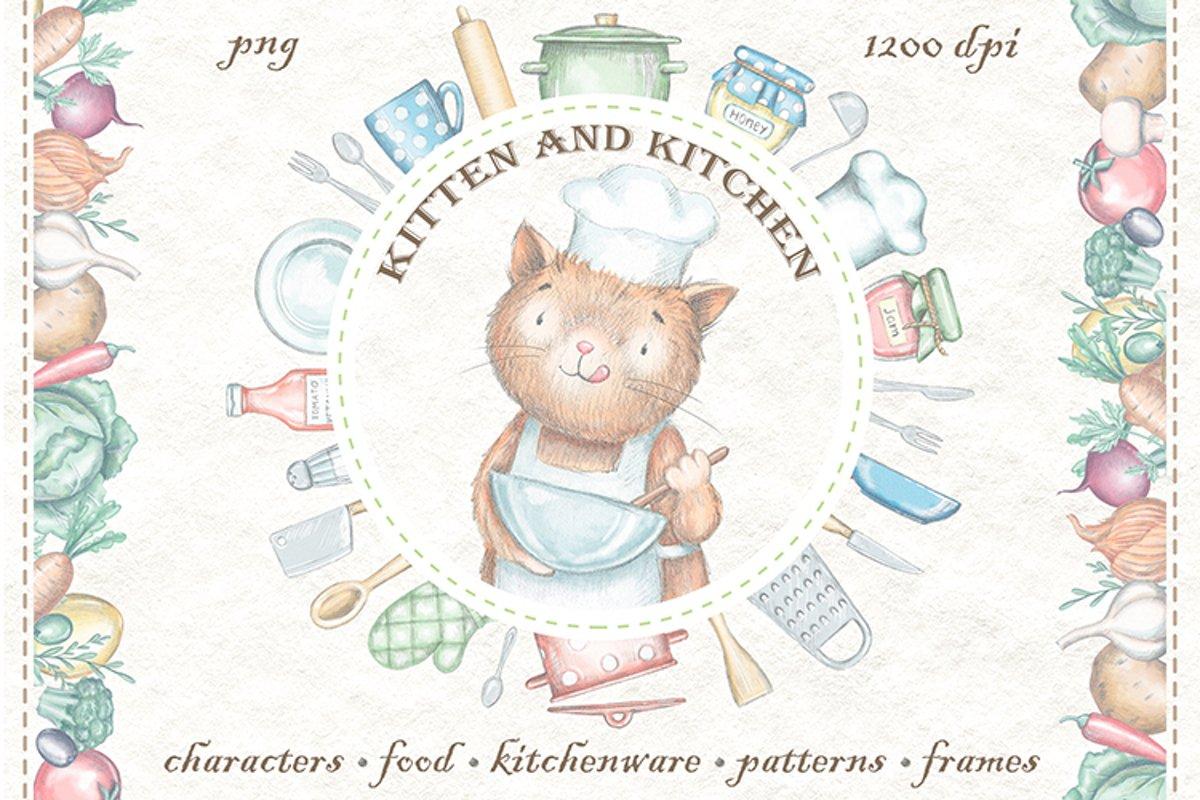 Kitten & Kitchen example image 1