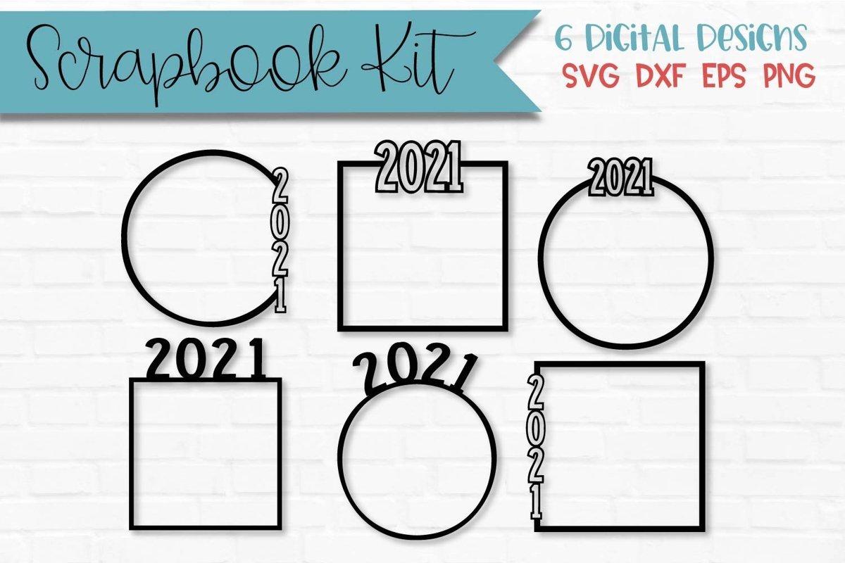 2021 Scrapbook Kit example image 1