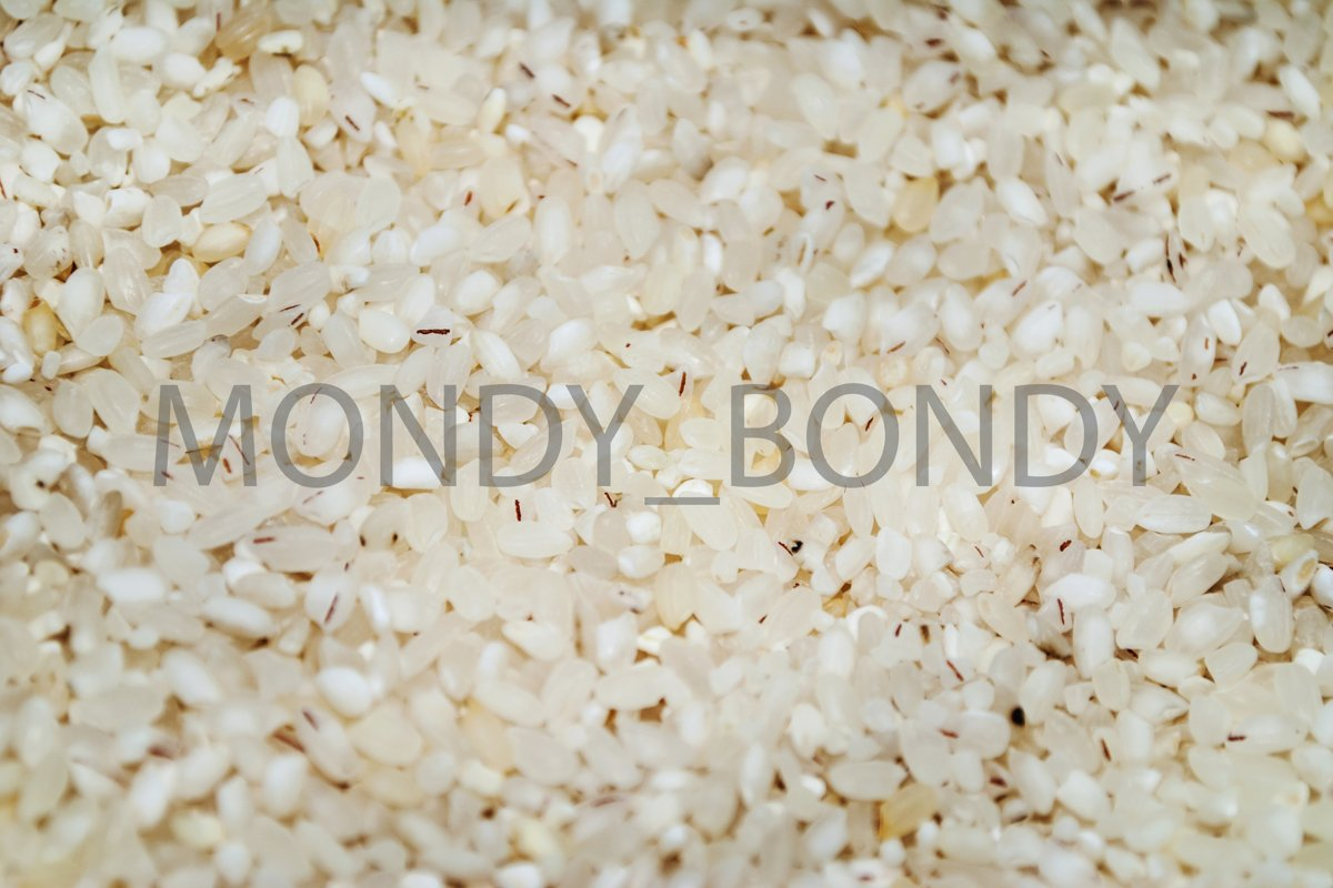 Rice cereal texture close-up example image 1