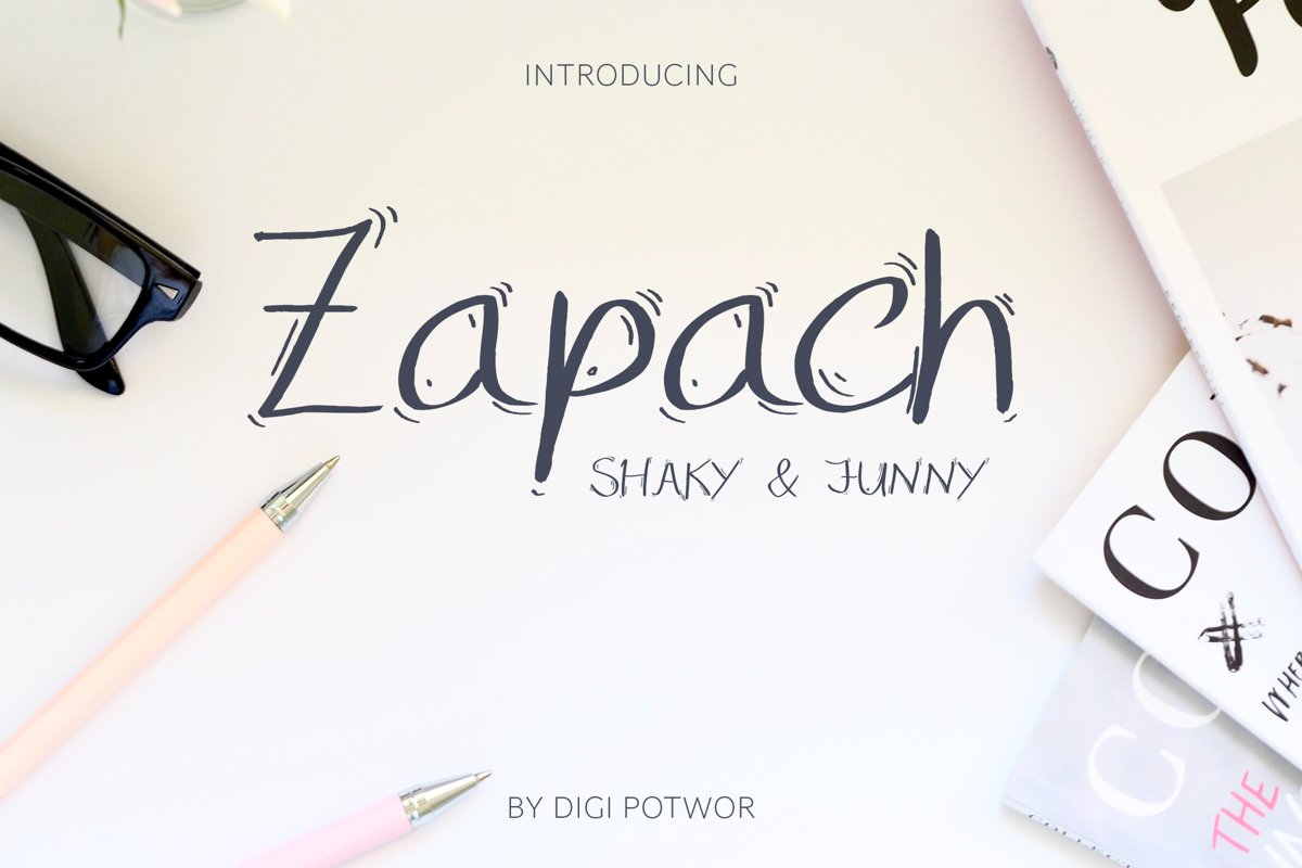 Zapach Font example image 1