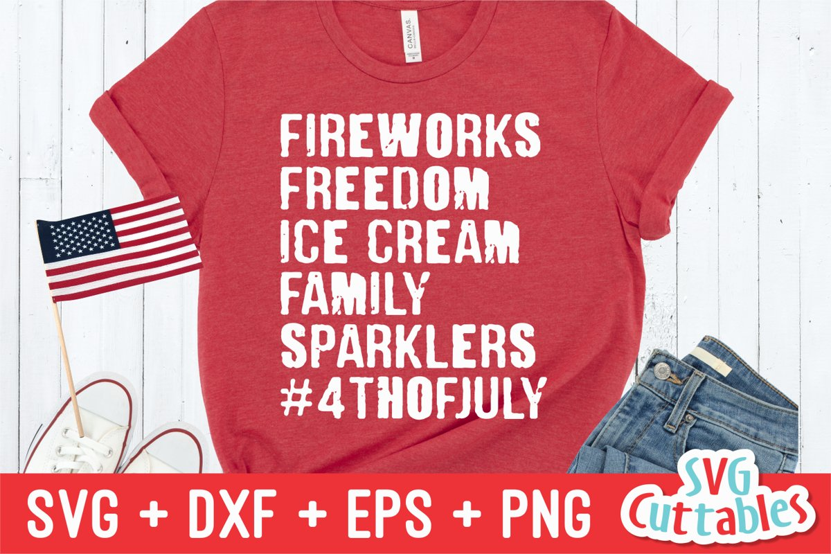 Fourth Of July SVG Cut File example image 1