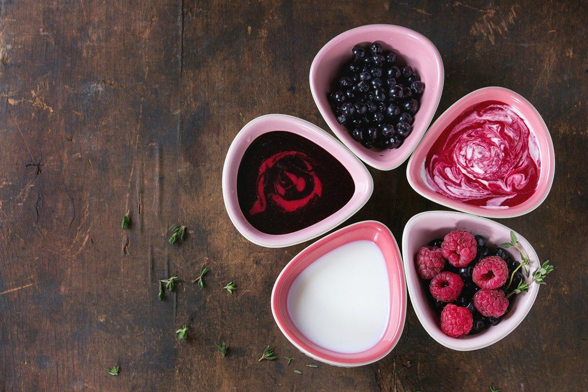 Dessert berry soups example image 1