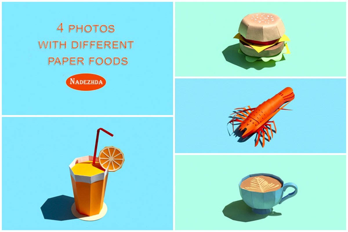 Different paper food products example image 1