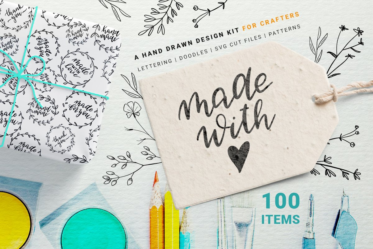 Made with Love - Set for Crafters example image 1