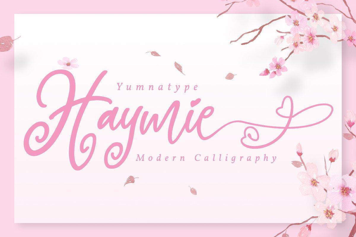 Hayme Script example image 1