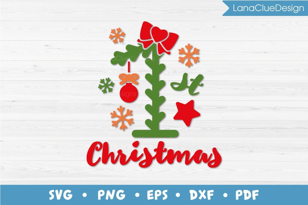 1st Christmas SVG example image 1