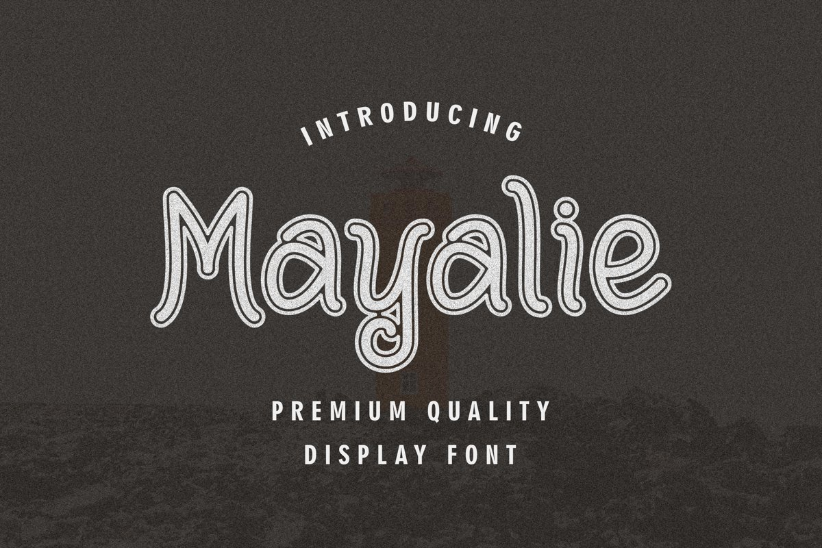 Mayalie - Display Font example image 1
