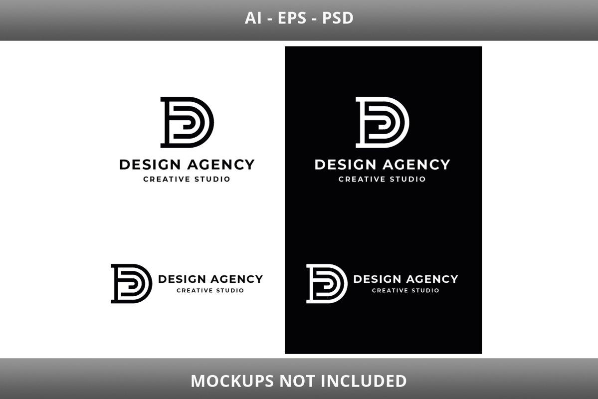 Design Agency Letter D Logo example image 1