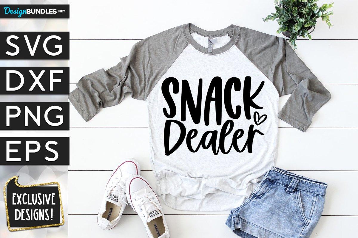 Snack Dealer SVG DXF PNG EPS example image 1