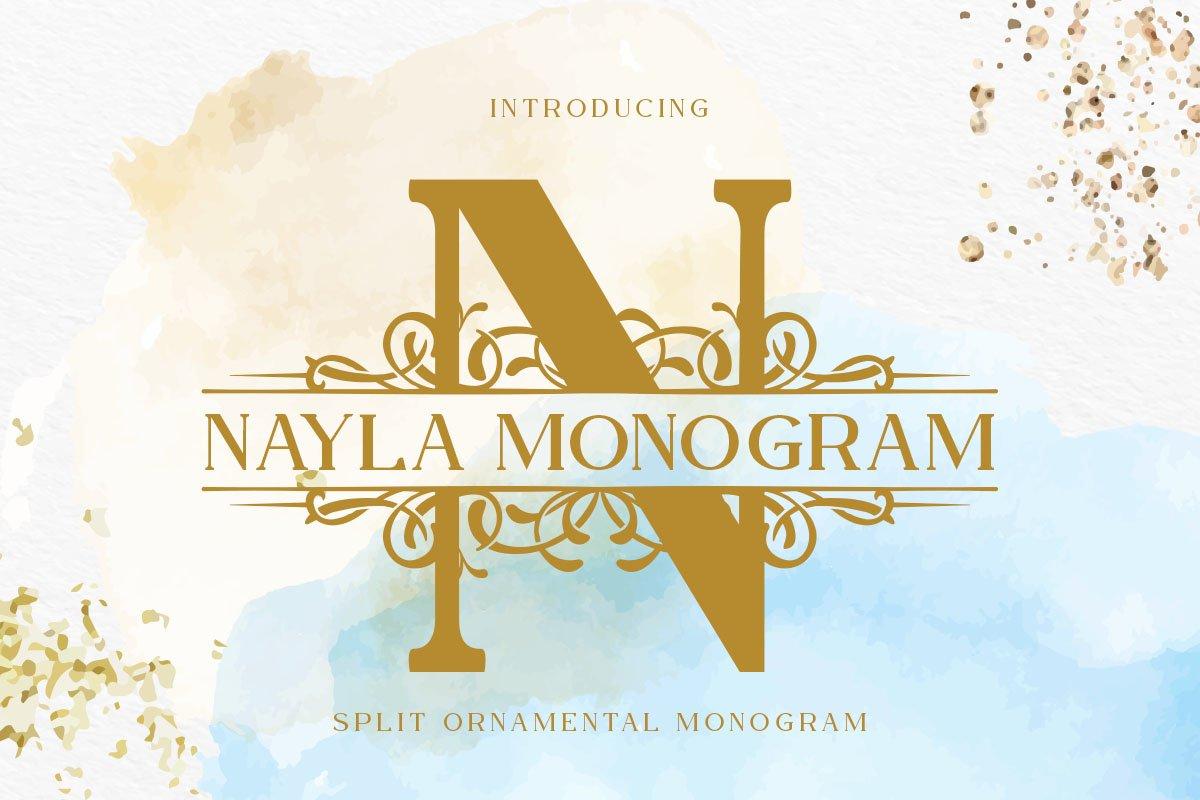 Nayla Monogram example image 1