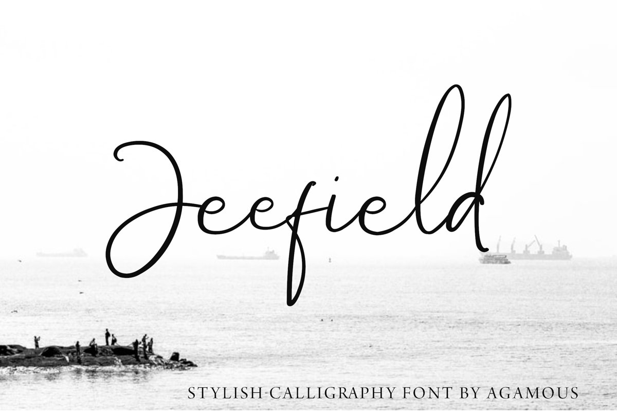 Jeefield Font example image 1