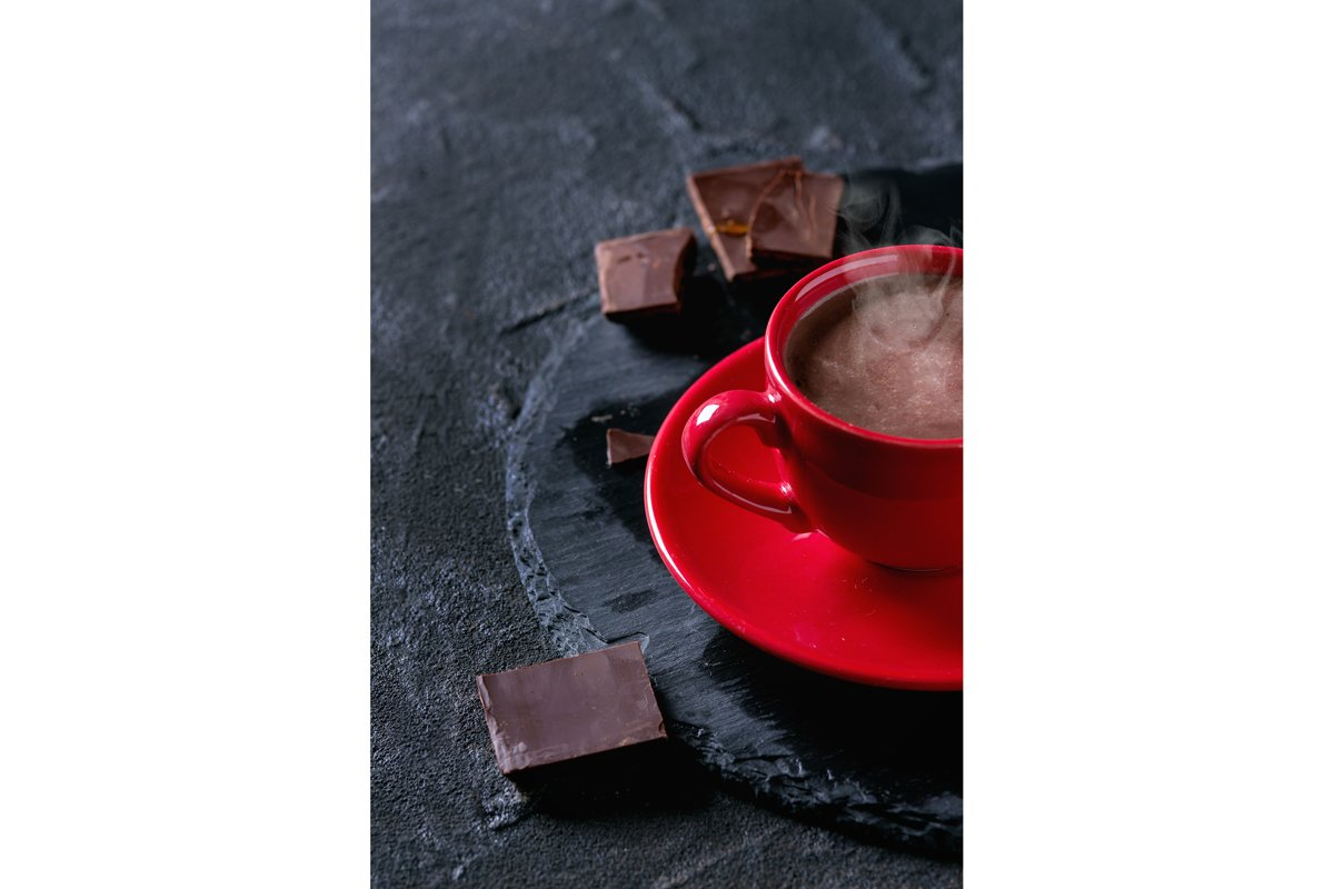Cup of hot chocolate example image 1