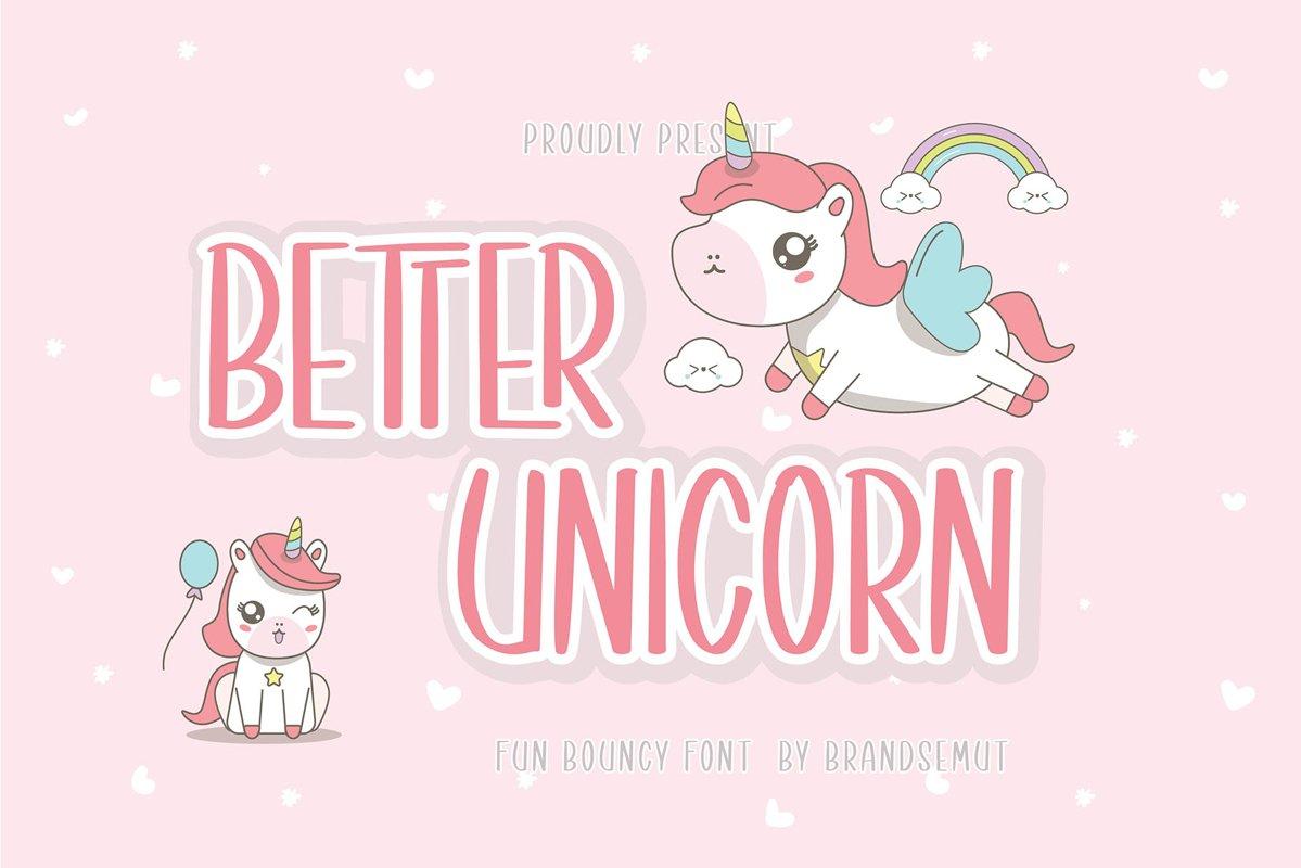 Better Unicorn example image 1