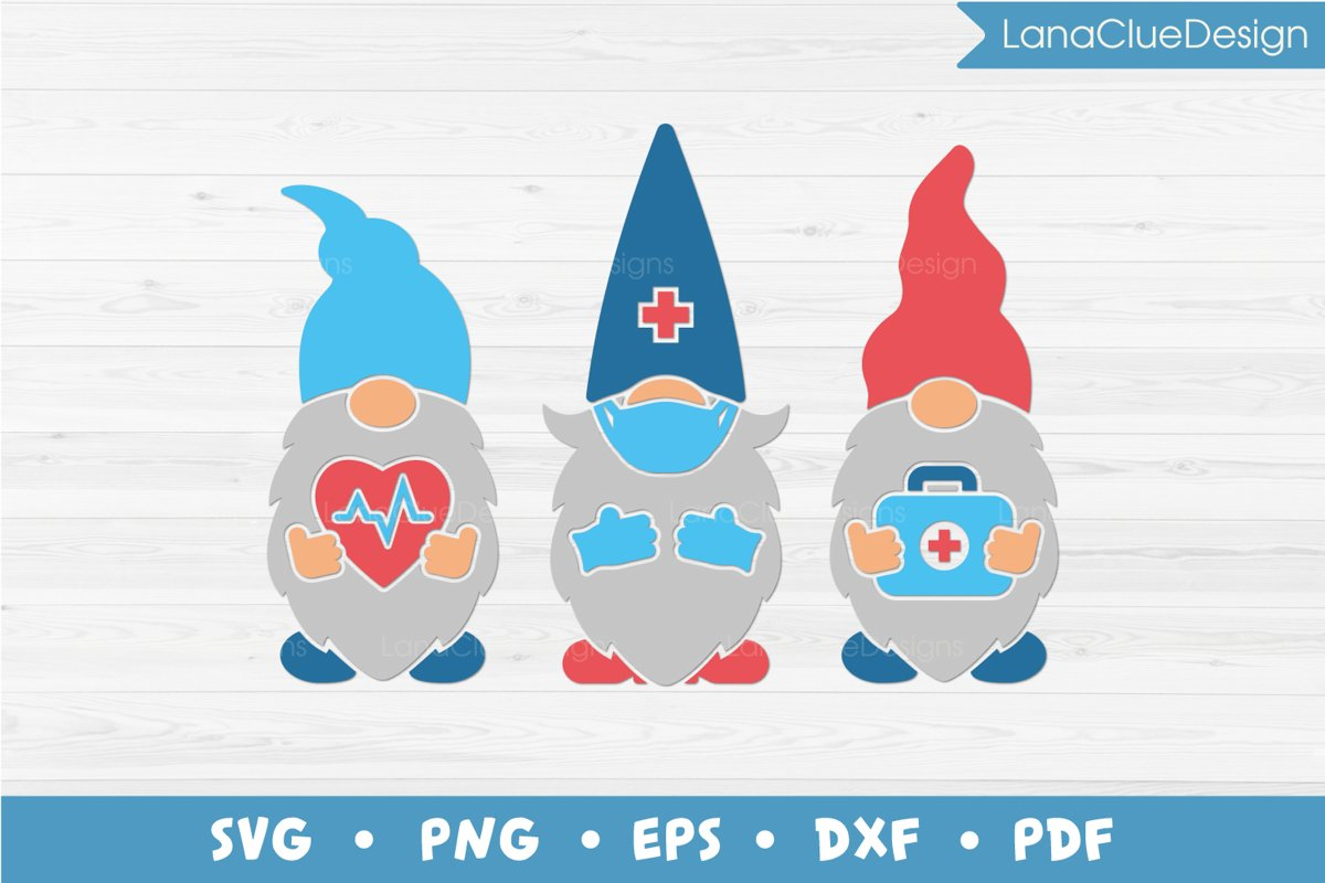 Medical Gnomes SVG example image 1