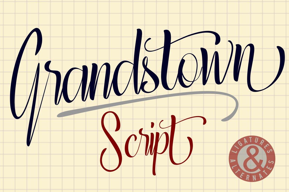 Grandstown Script example image 1