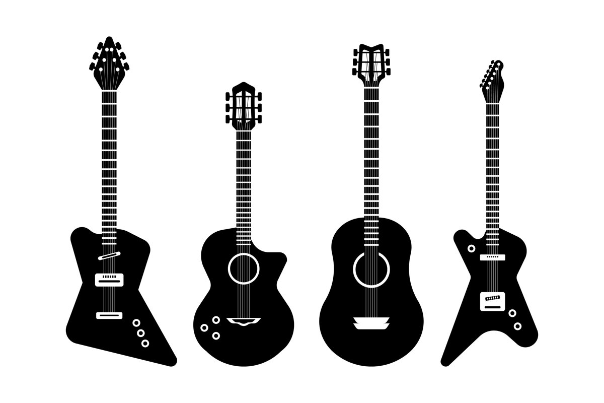 Guitar Silhouettes example image 1