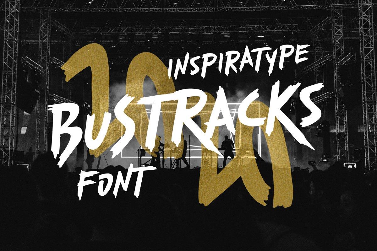 Bustracks Font example image 1