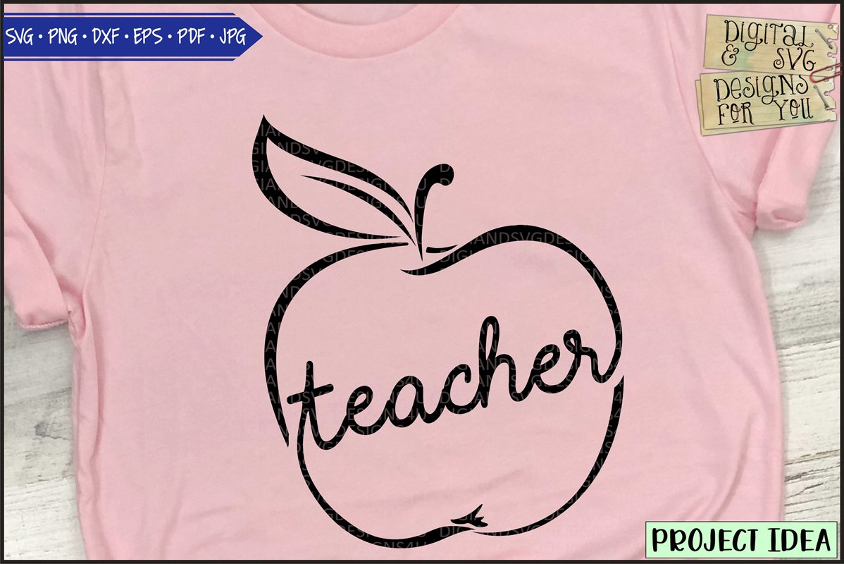 Teacher and Apple example image 1