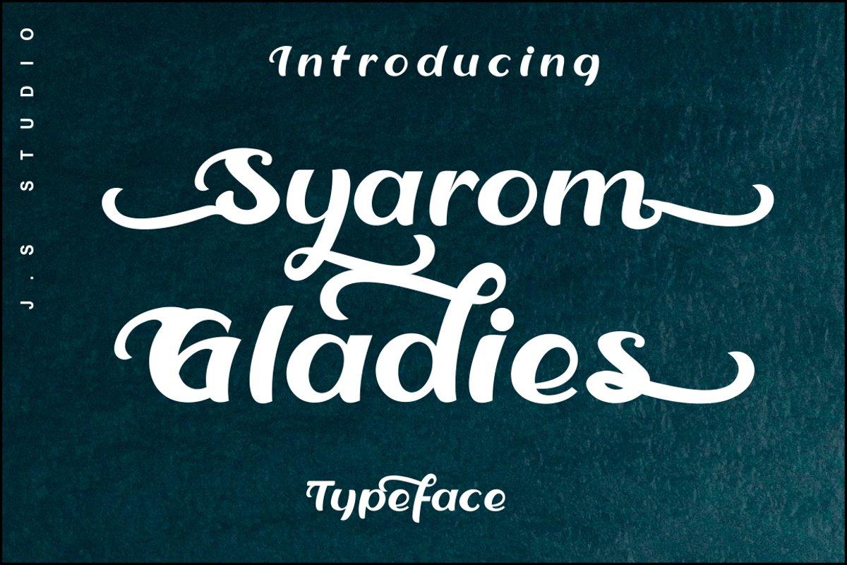 syarom gladies example image 1