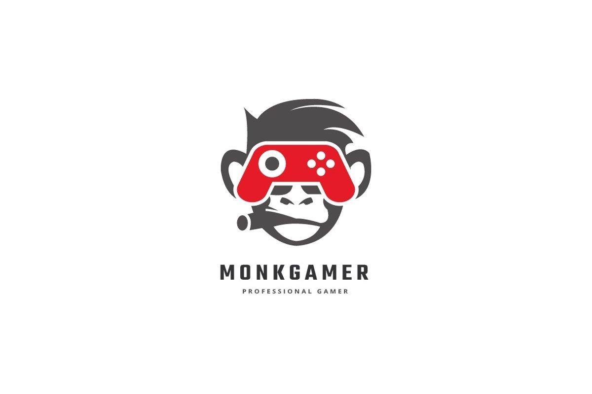 Monkey Gamer Logo example image 1