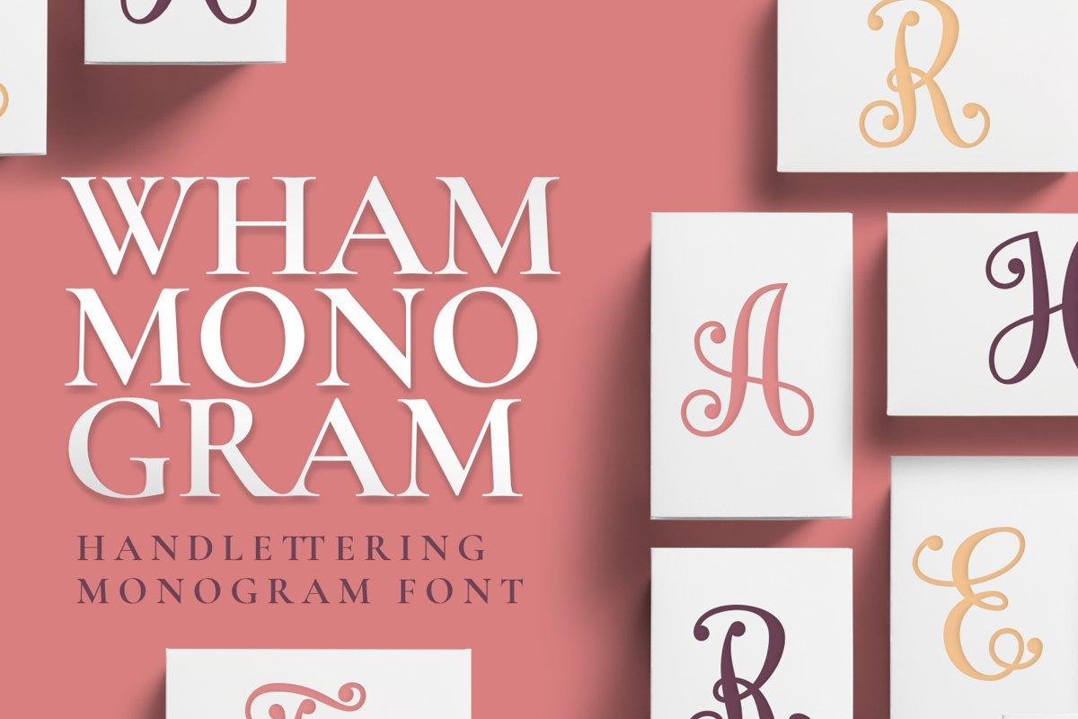 Wham Monogram example image 1