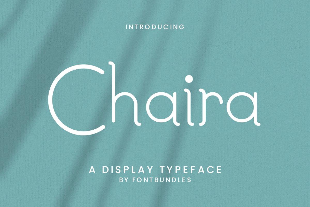 Chaira example image 1