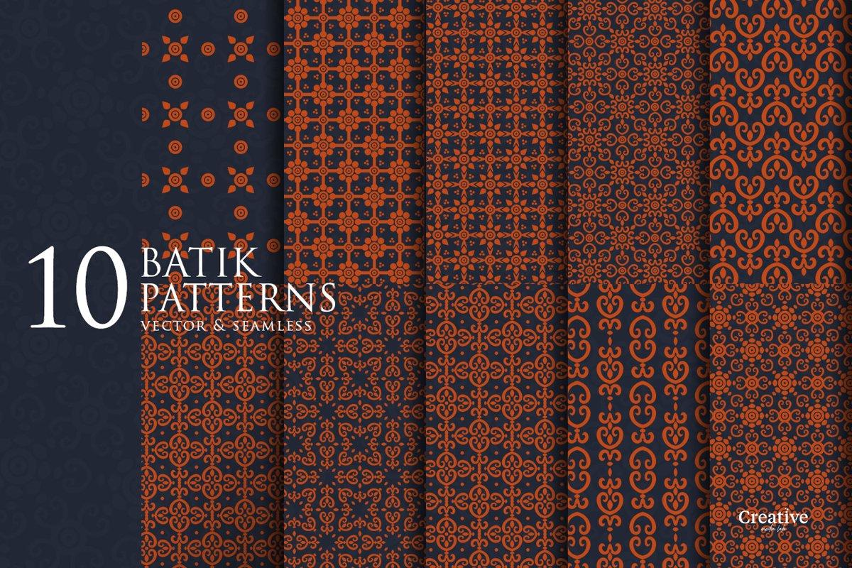 10 Batik Patterns example image 1