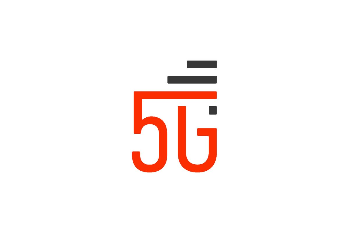 5G Symbol Logo Isolated example image 1