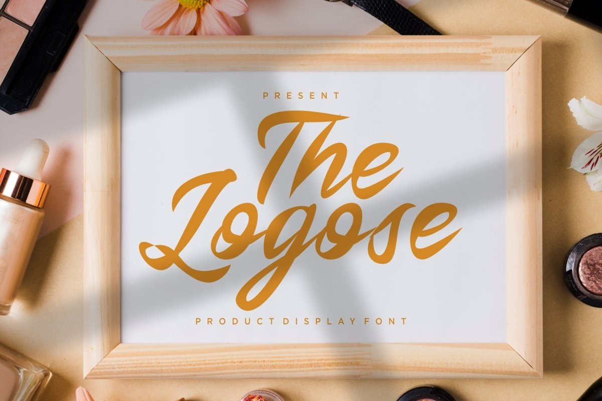 The Logos Script Font example image 1