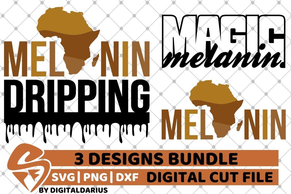 Download 3x Melanin Bundle svg, Black Queen svg, Magic Melanin svg ...