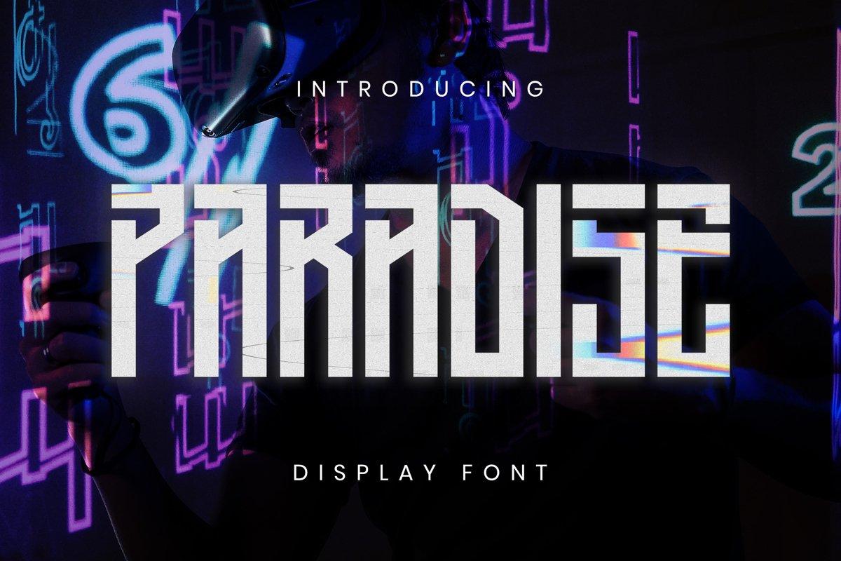 Paradise Font example image 1