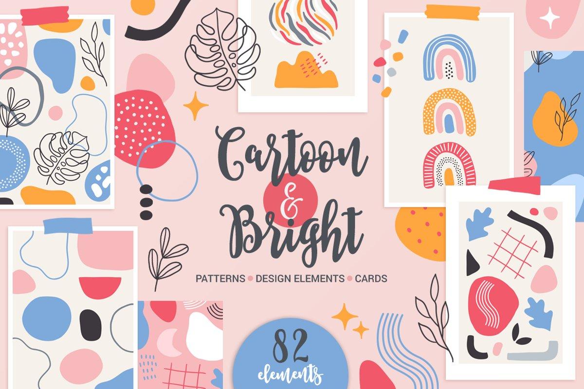 Cartoon & Bright Kit example image 1