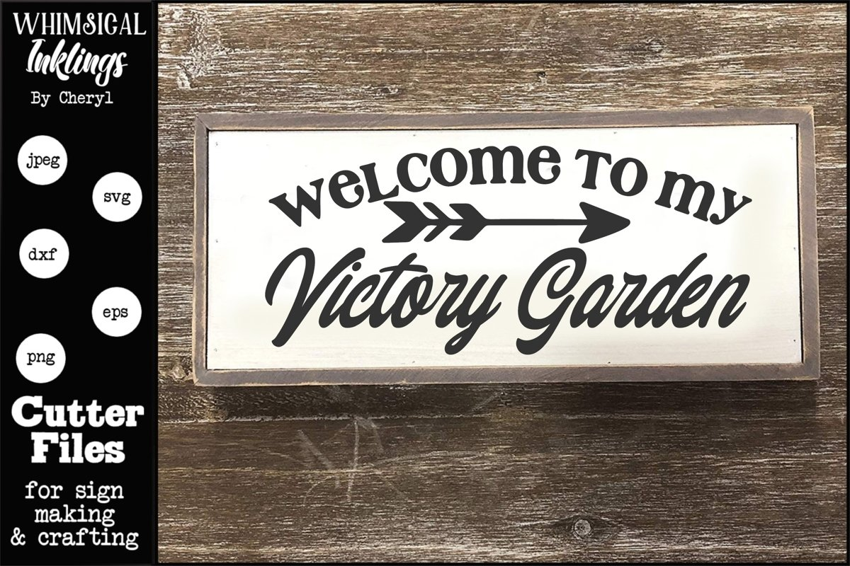 Victory Garden SVG example image 1