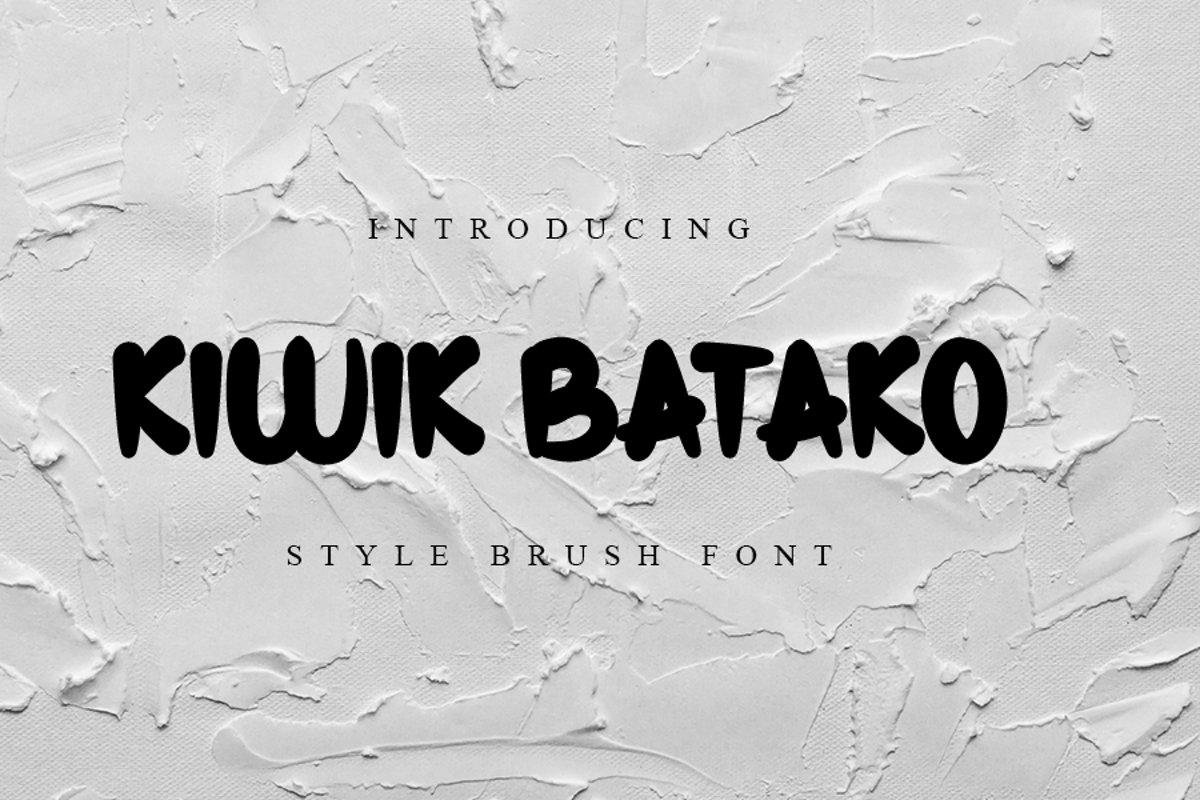 Kiwik Batako example image 1