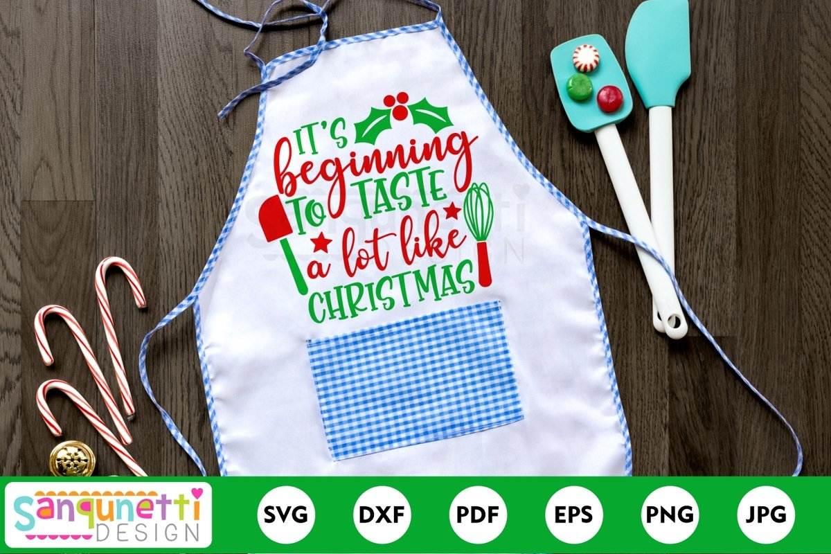 It's beginning to taste a lot like Chrtistmas SVG example image 1