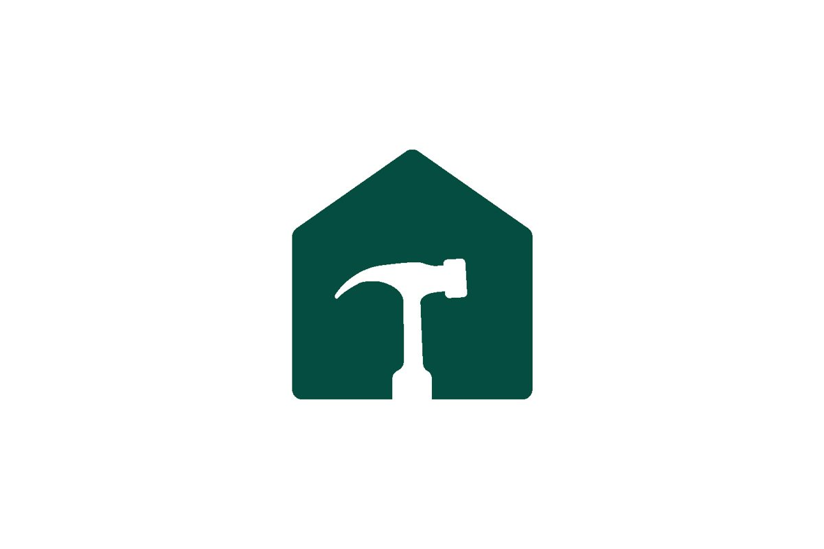 Home Repair Logo Design vector isolated example image 1