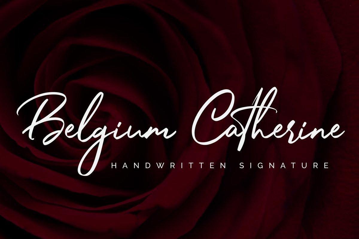 Belgium Catherine example image 1