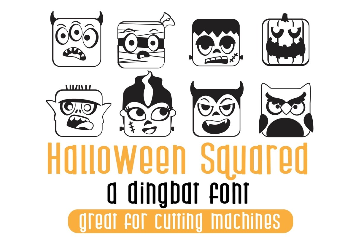 DB Halloween Squared example image 1
