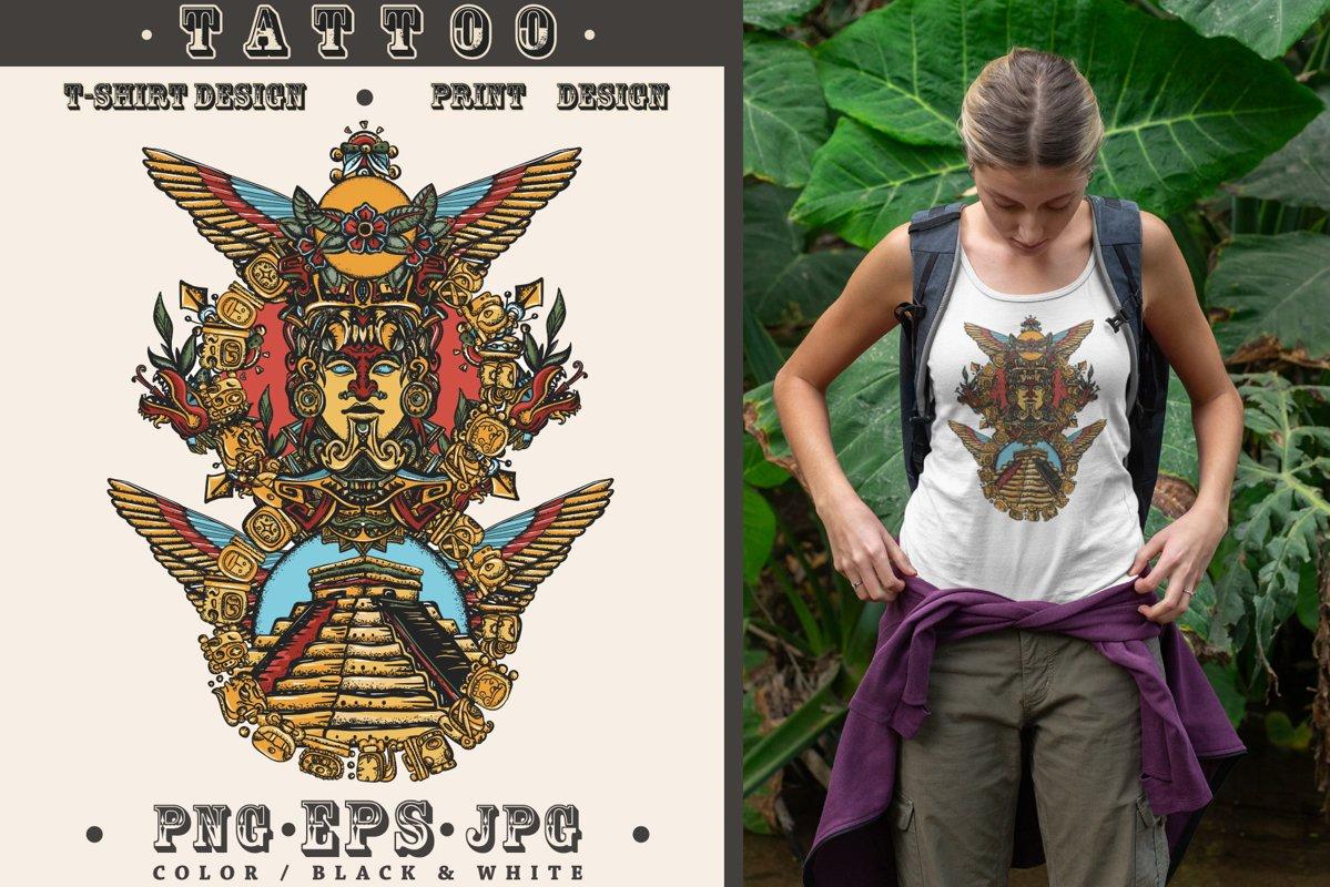 Mayan totem example image 1
