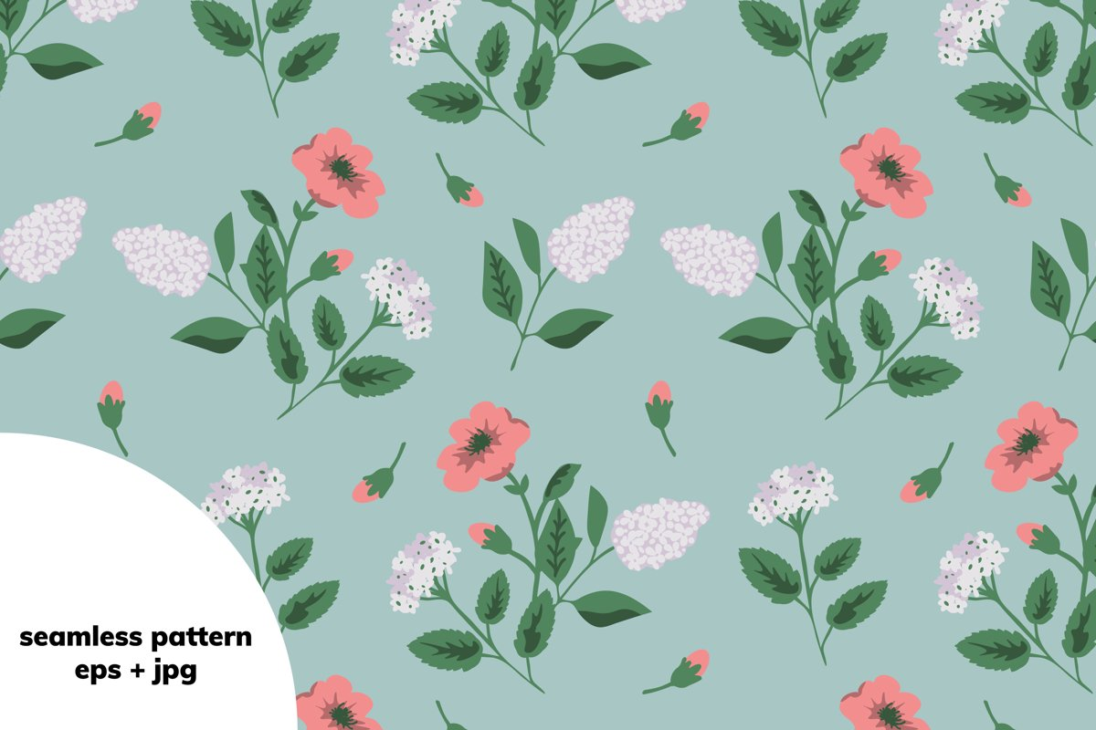 Floral pattern example image 1